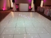 White LED Dancefloor and Monogram