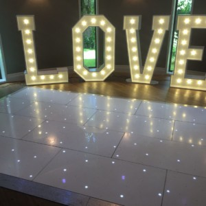 Giant Light up Letters & Numbers