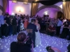 White Dancefloor with moodlighting
