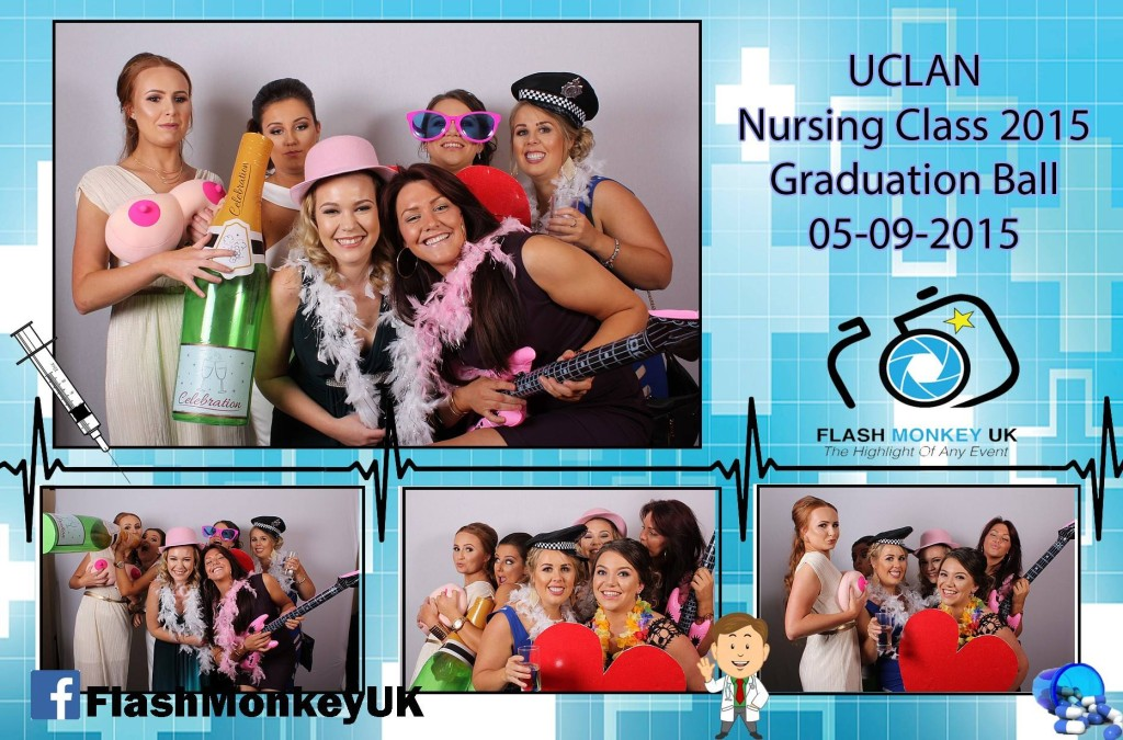 Flash Monkey Nurse Graduation Example